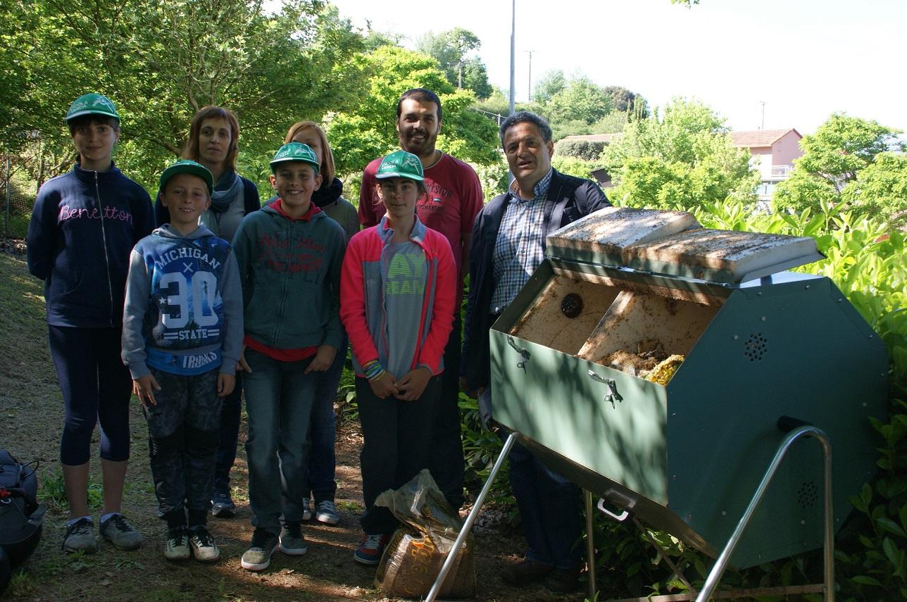 Funciona amb èxit una prova pilot de reciclatge a l'escola Bisaroques que es podria estendre