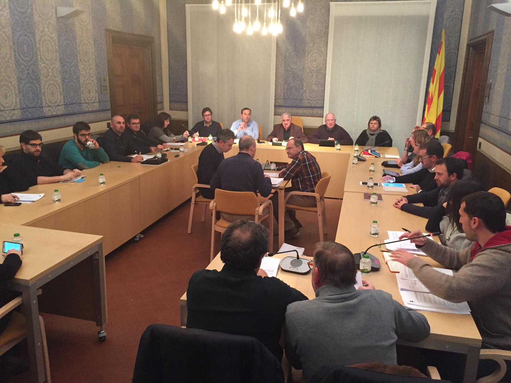 El Consell Comarcal de la Garrotxa fa el primer pas per a gestionar residus amb el Pla de l'Estany