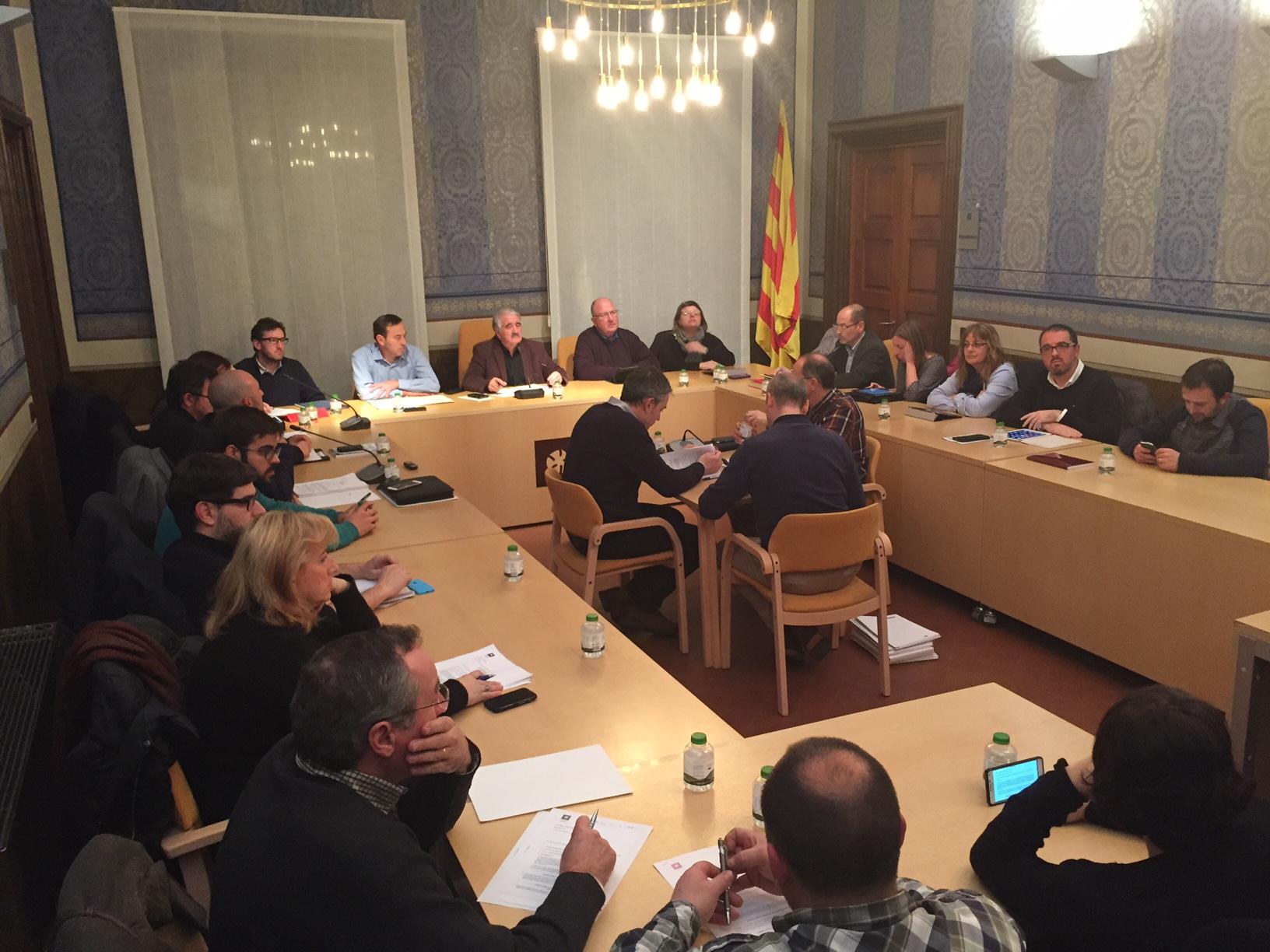 Ple CC Garrotxa Gener 2016 (Jordi Altesa)