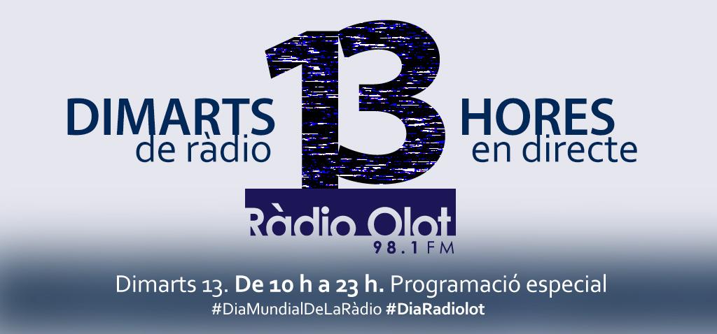 Ràdio Olot es prepara per al dia més radiofònic de l'any