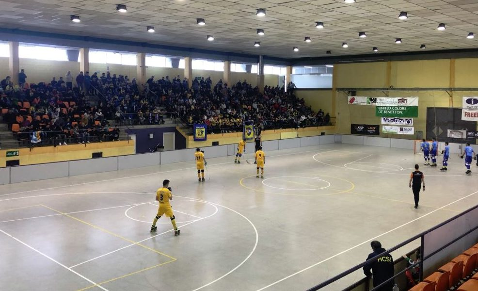 L'Hoquei Olot es jugarà ser a semifinals a Sant Just
