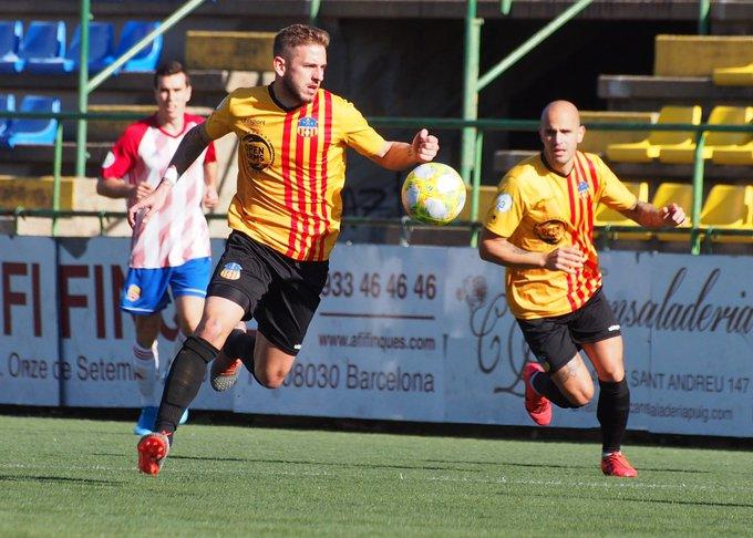 L'Olot, molt pendent del play-off d'ascens a Segona B i de Roger Escoruela
