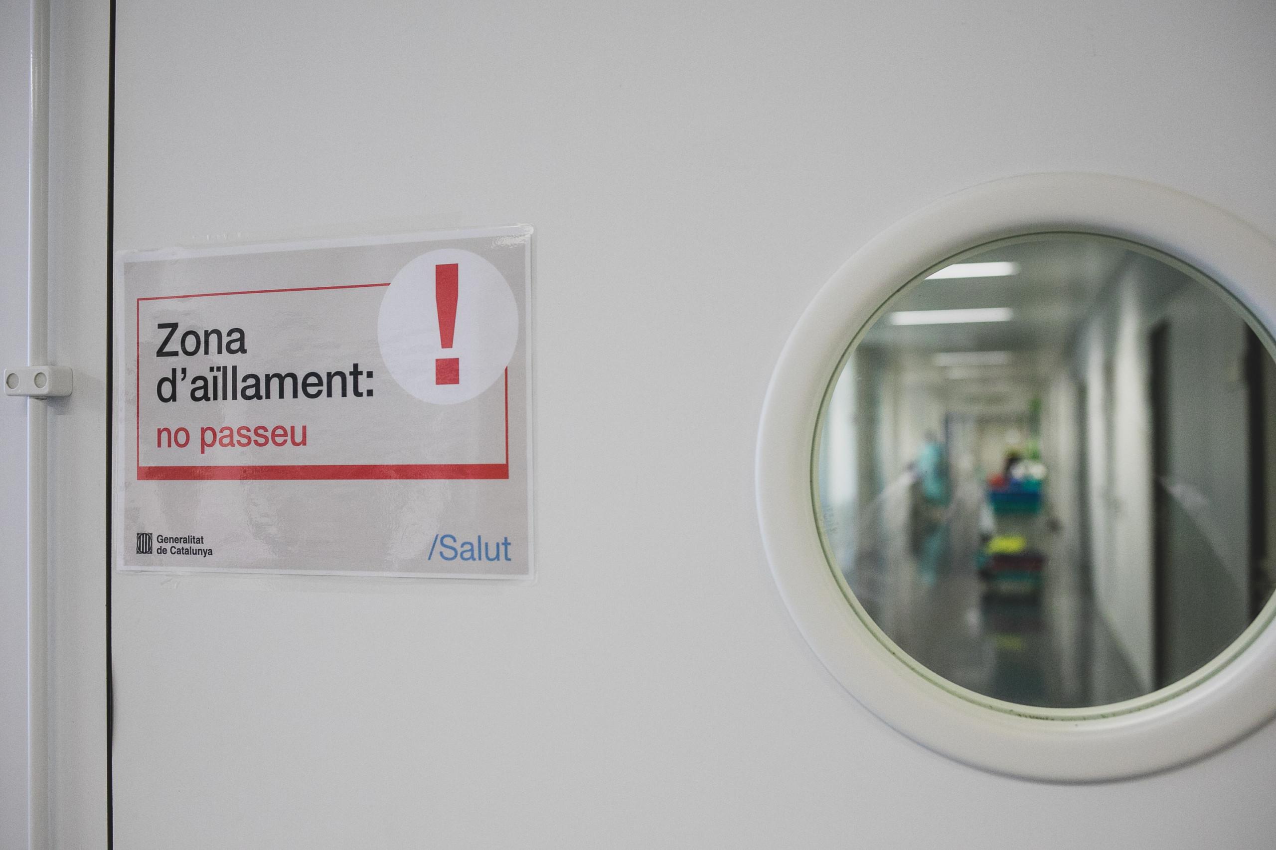 L'Hospital d'Olot arriba al pacient zero i tanca la unitat covid després de nou mesos