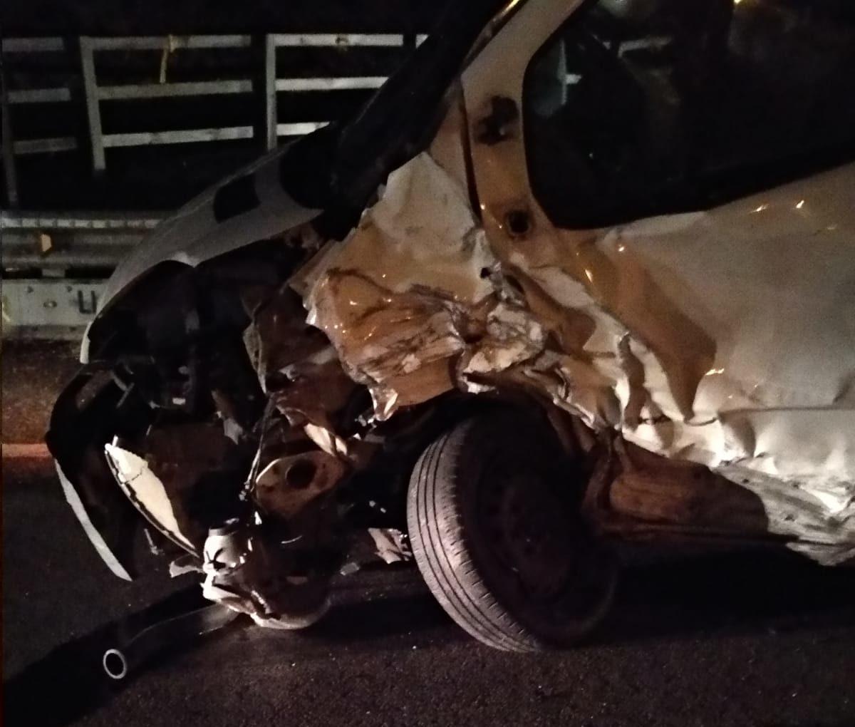 Un accident entre dos cotxes a Sant Feliu de Pallerols deixa un ferit menys greu i dos de lleus