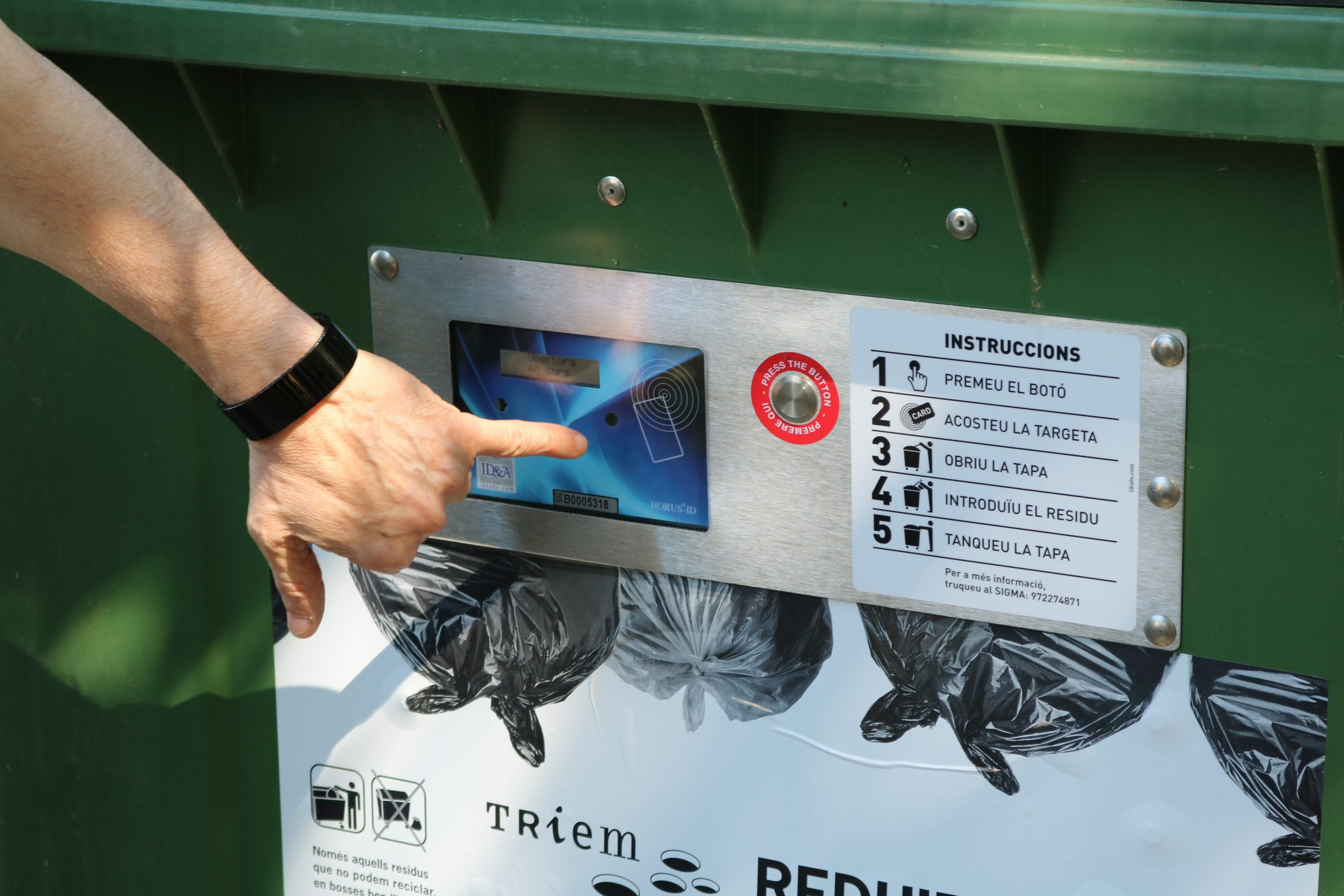 Argelaguer arriba al 78% de recollida selectiva després de dos anys del sistema de contenidors tancats