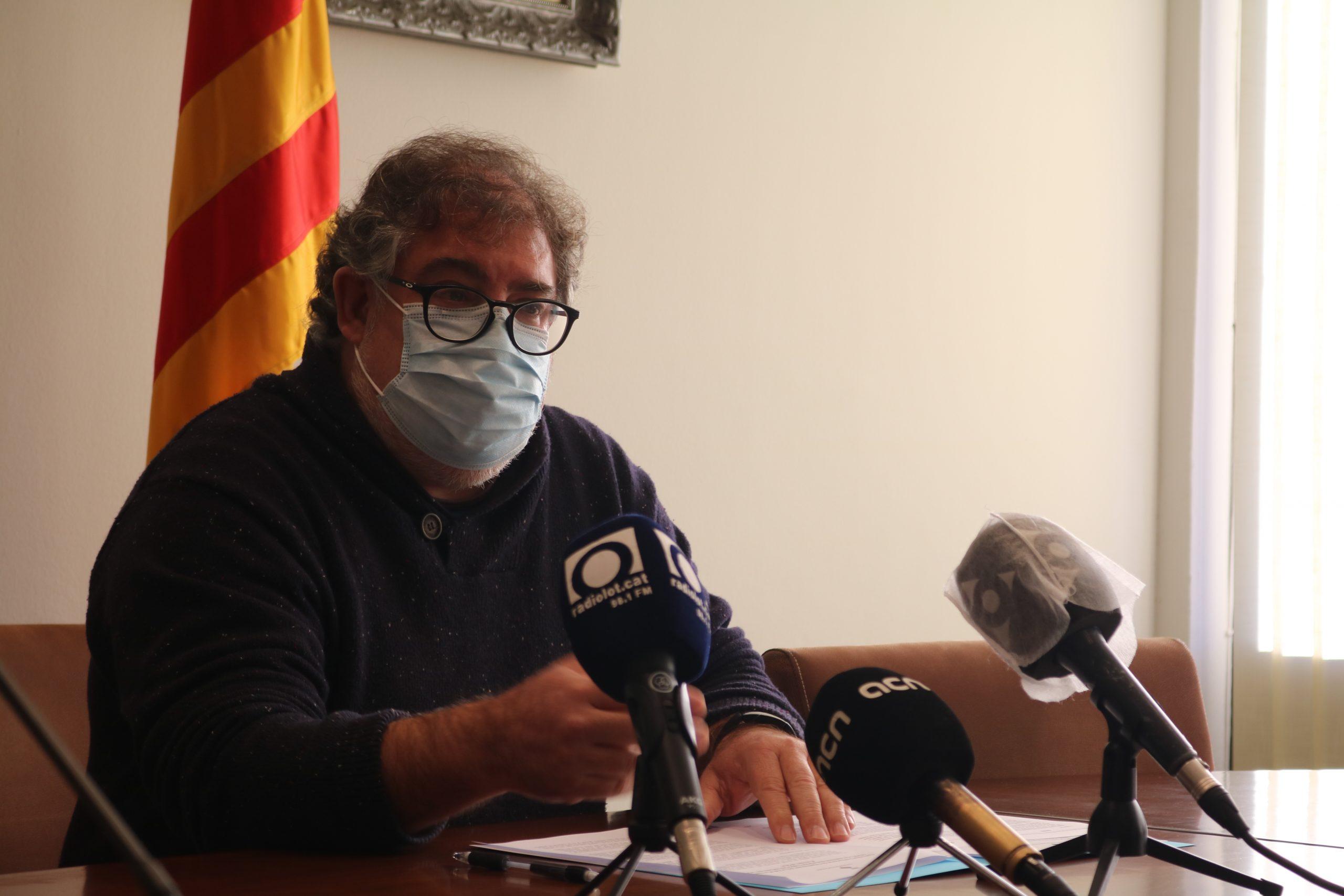 """La Vall d'en Bas assegura que l'Ajuntament d'Olot """"falta a la veritat"""" amb la variant"""