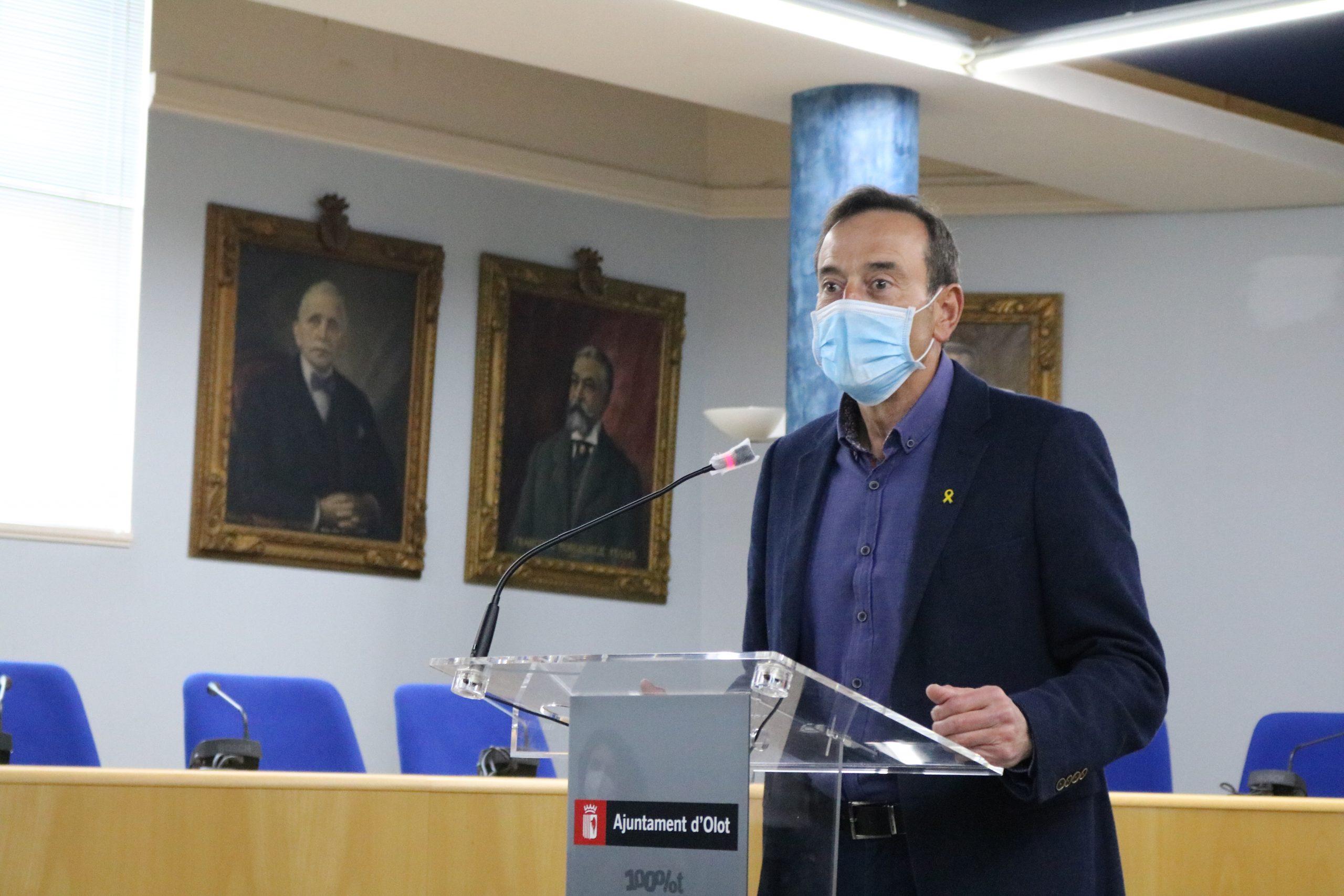 L'Ajuntament d'Olot preveu noves línies d'ajuda a sectors econòmics afectats per la pandèmia
