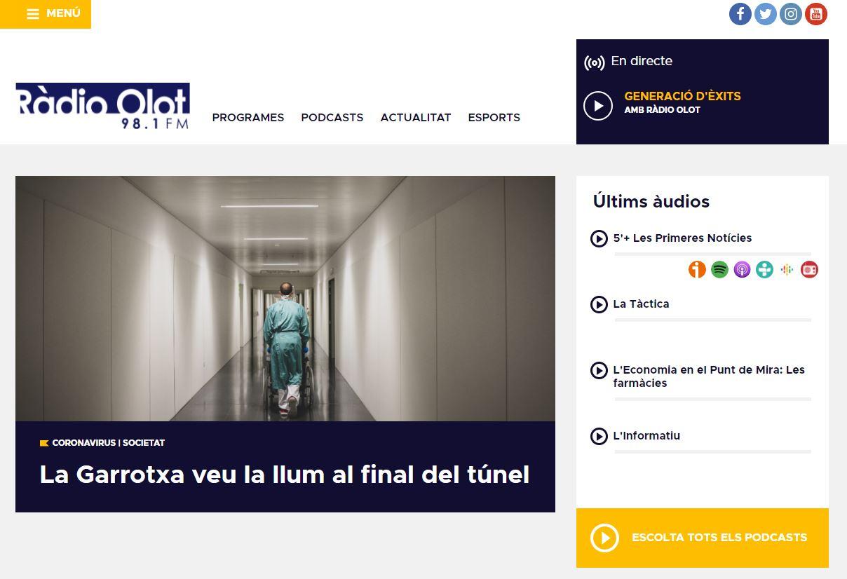 El portal radiolot.cat es renova