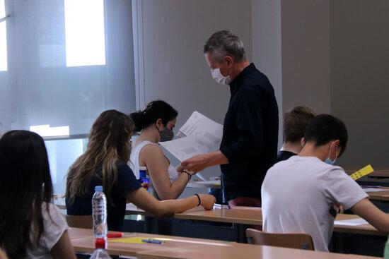 Els estudiants de la Garrotxa treuen la tercera millor nota de Catalunya a la Selectivitat 2021