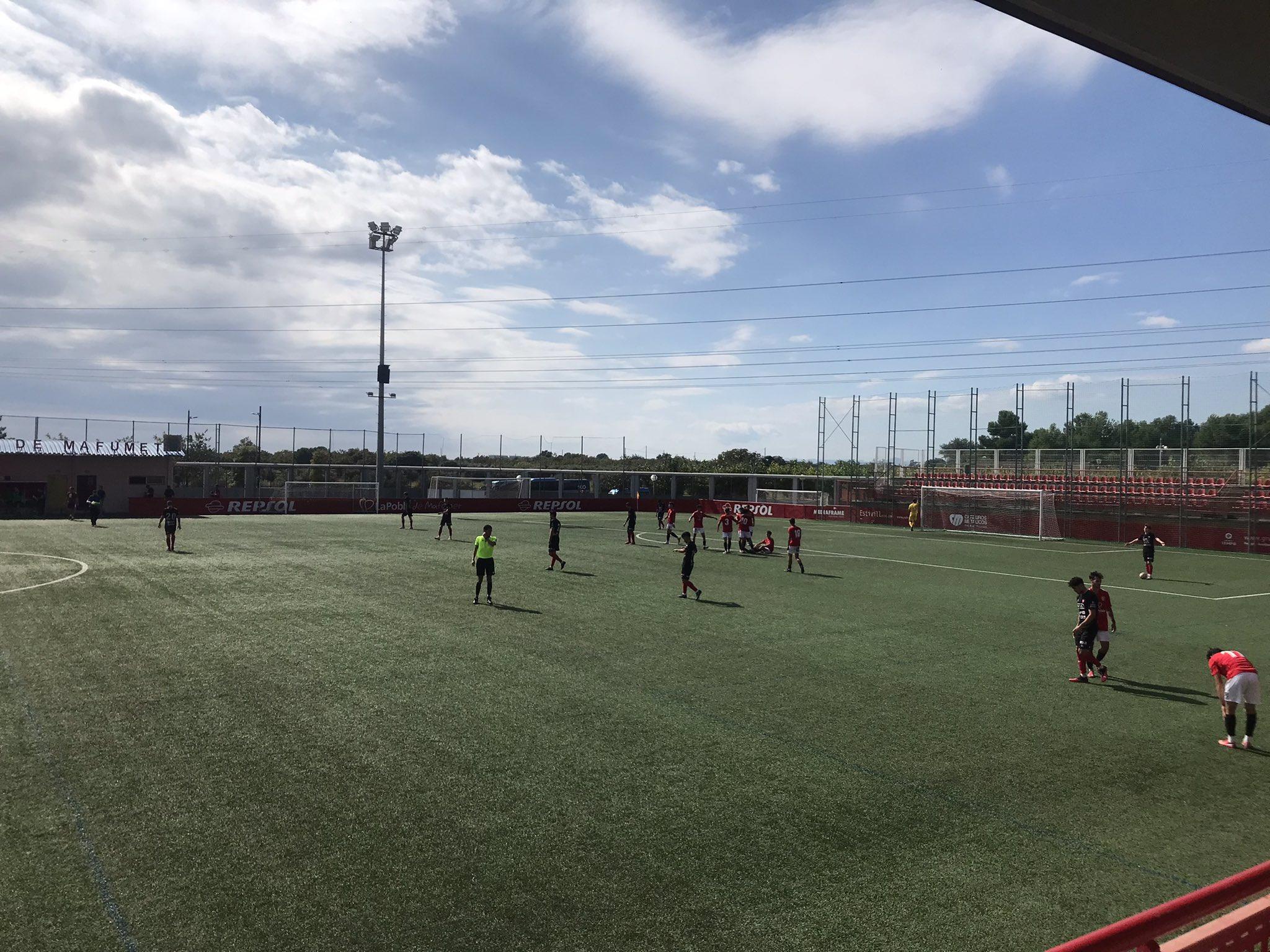 L'Olot encaixa la primera derrota de la temporada a la Pobla de Mafumet (1-0)